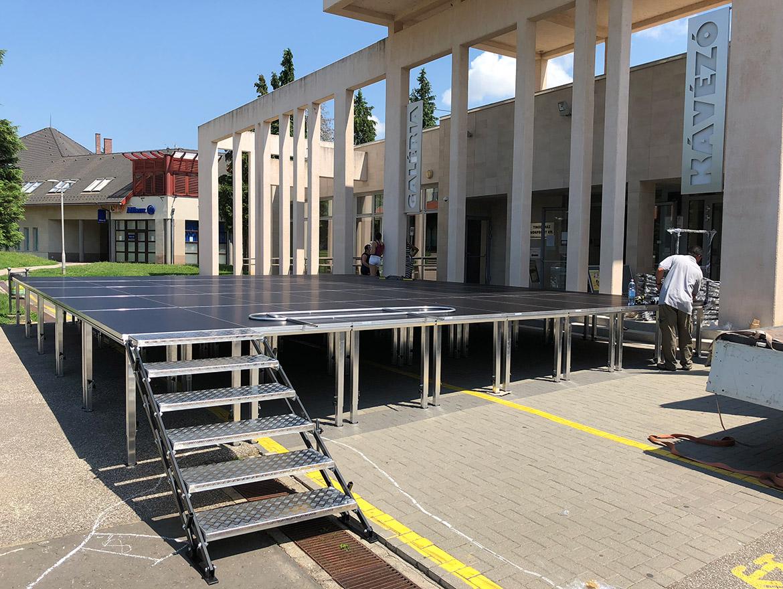 Evo-stage 1000 mobil színpad