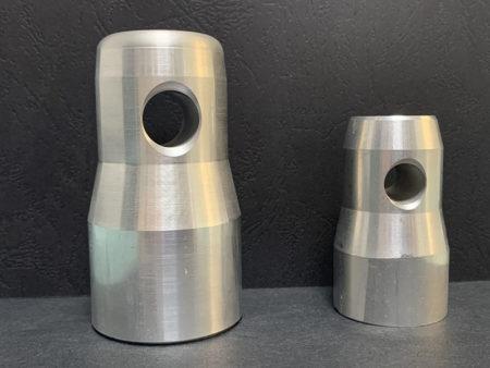 Alumínium félkúpok